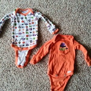 Halloween One side 0-3 months